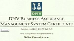 Successful ISO audit at Noliac Ceramics