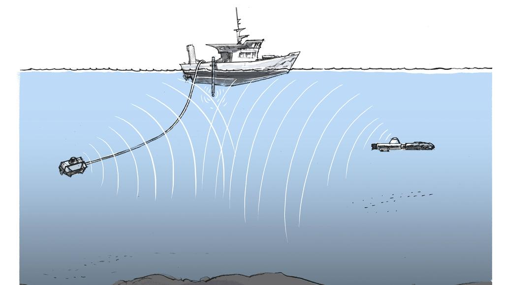 Sonars for underwater communication